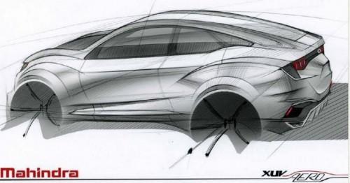 Mahindra XUV Aero Coupe SUV Concept