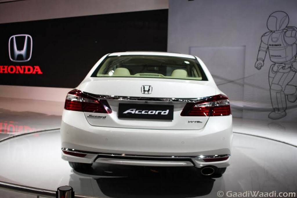 New Generation Honda Accord Hybrid 4