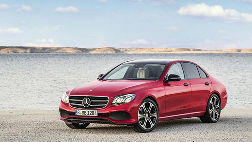 New-gen Mercedes E class front fascia