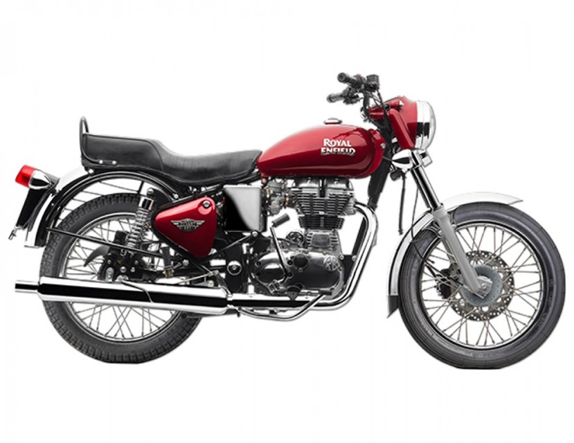 RE Bullet Electra 500 Spied