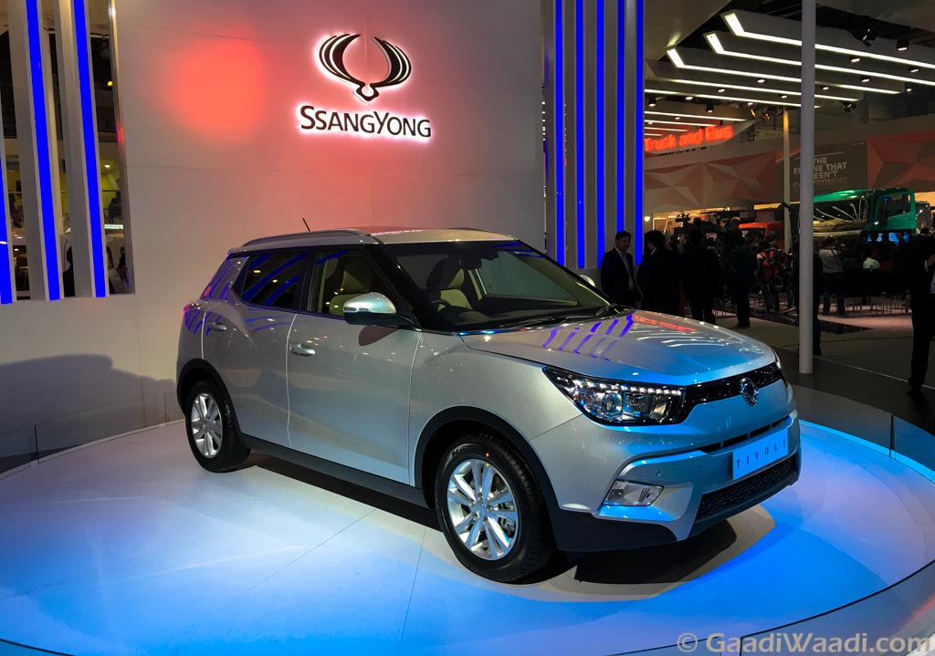 Ssangyong tivoli unveiled in india-2