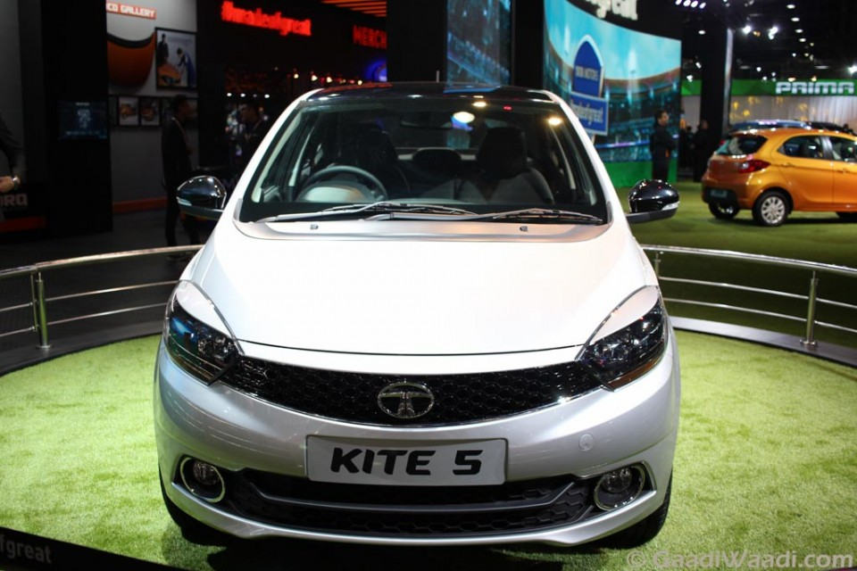 Tata Kite 5 Compact Sedan Unveiled