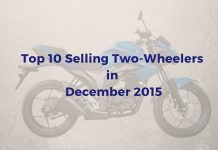 Top 10 Selling Two-Wheelers of december 2015