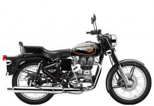 bullet 350 copperstriper black