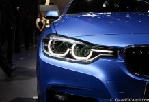 2016 BMW 3 Series Facelift headlamps