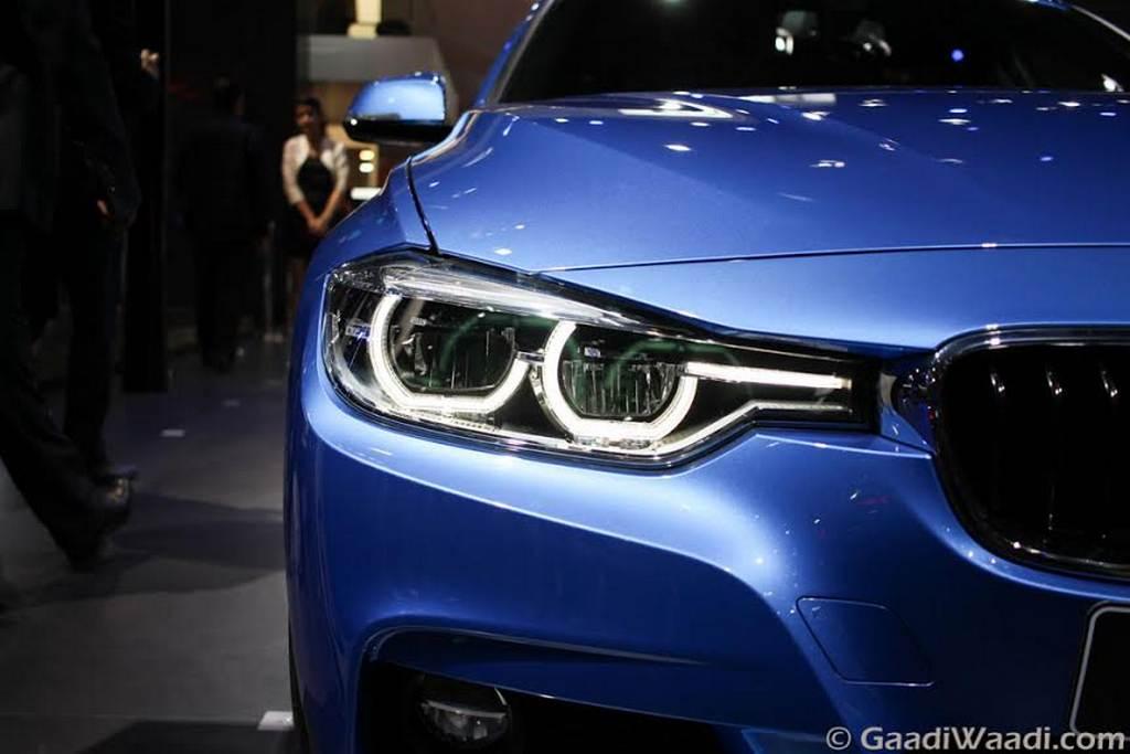 2016 BMW 3 Series Facelift headlamps