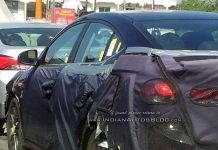2016 Hyundai Elantra Caught Testing in India For the First Time