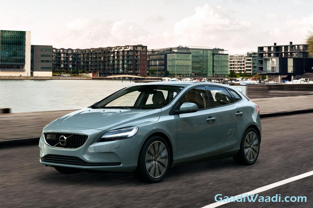 2017 Volvo V40 Facelift India Launch Price Exterior
