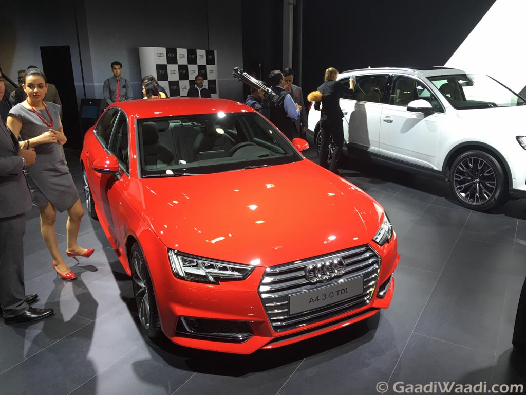 2016 audi a4 india launch on september 8. Black Bedroom Furniture Sets. Home Design Ideas
