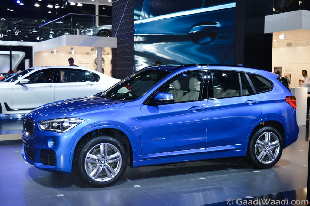 new gen 2016 bmw x1 launched at the delhi auto expo priced from lakhs. Black Bedroom Furniture Sets. Home Design Ideas