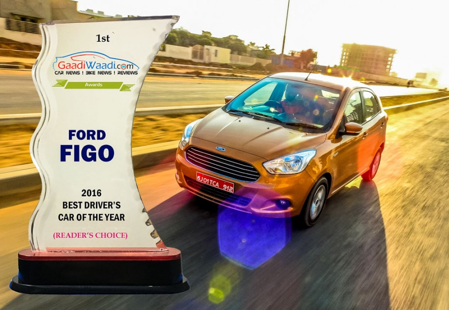 2016 gaadiwaadi reader's choice award - driver;s car of the year