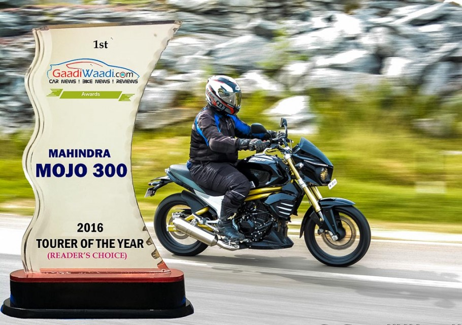 2016 gaadiwaadi reader's choice award - tourer bike of the year