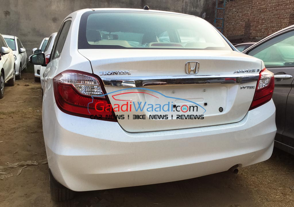 2016 Honda Amaze Facelift Launch Price Specs Features Price Review