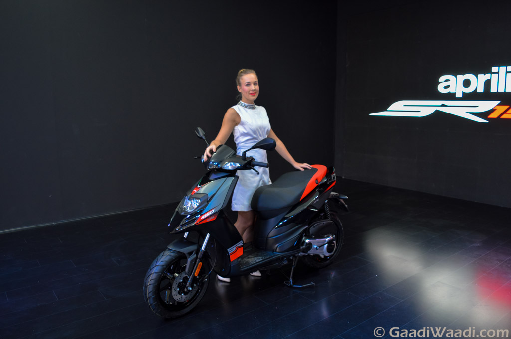 New Ktm Scooty Price >> Aprilia SR 150cc Scooter Launched in India at Rs. 65,000 - Gaadiwaadi.com - Latest Car News ...