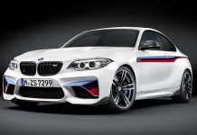 BMW M2 Coupe Gets M Performance Upgrades