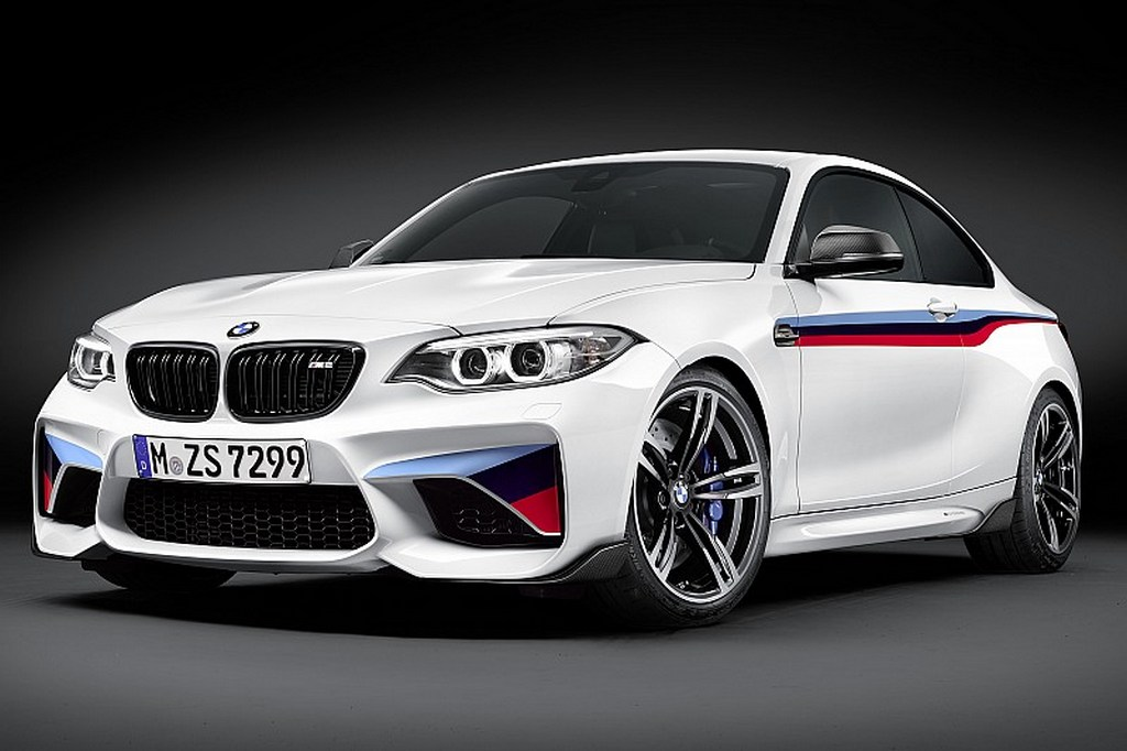 bmw m2 coupe gets m performance upgrades. Black Bedroom Furniture Sets. Home Design Ideas