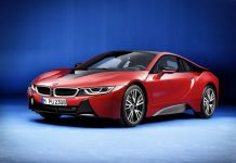 BMW i8 Protonic Red Edition Front