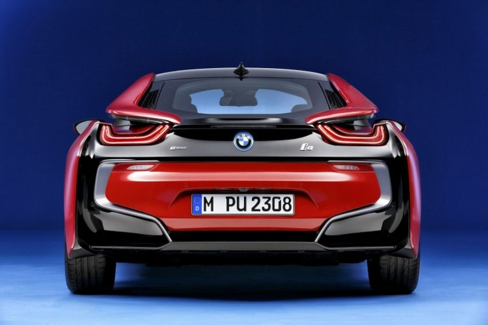 BMW i8 Protonic Red Edition Rear