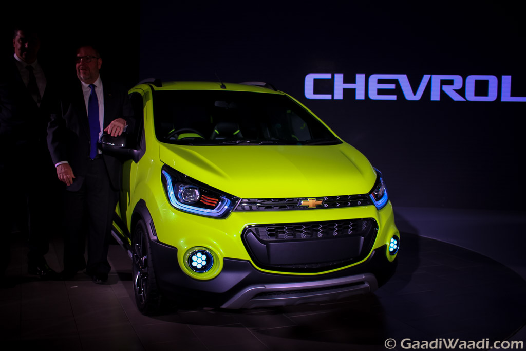 Chevrolet beat Cross unveiled at auto expo