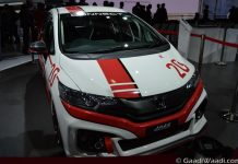 Honda Jazz Racing Concept Front