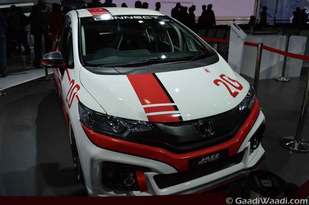 Honda Jazz Racing Concept Displayed at 2016 Delhi Auto Expo