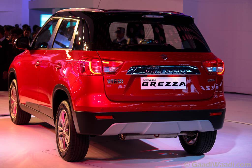2016 Auto Expo: Maruti Suzuki Vitara Brezza Launched ...