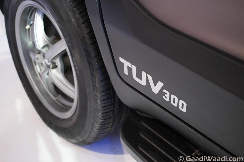 Mahindra Tuv300 Endurance Edition Breaks Cover At The Auto