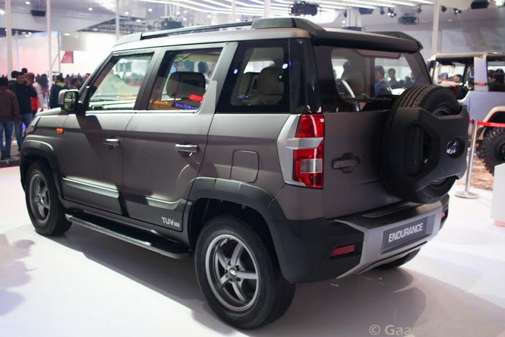 Mahindra Tuv300 Endurance Edition Breaks Cover At The Auto