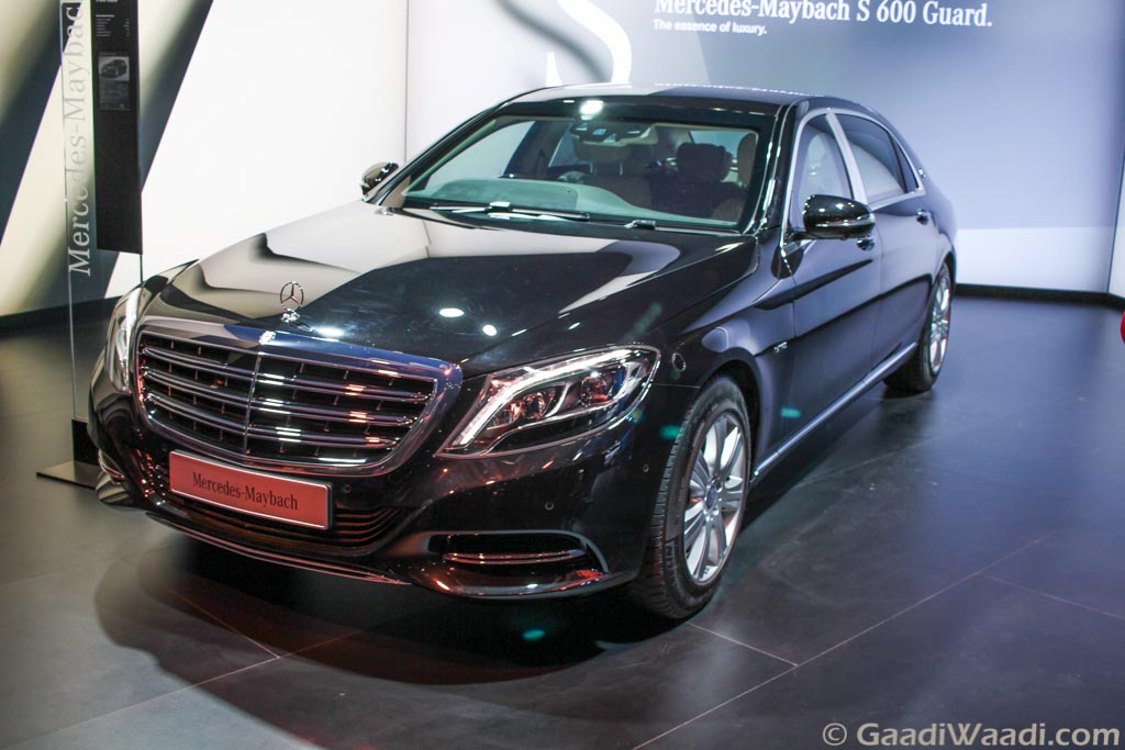 Mercedes Maybach S600 Guard India Launch on 8th March ...