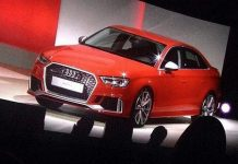 New Audi RS3 Sedan Leaked