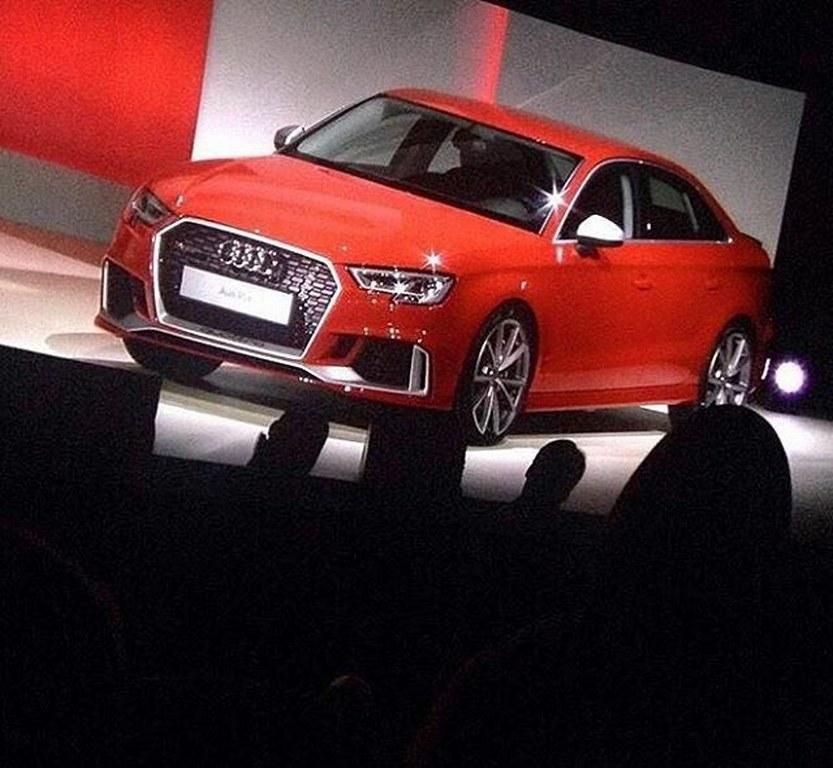 New Audi RS3 Sedan Leaked