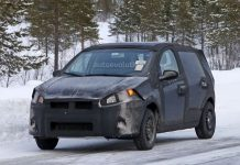 New Generation Fiat Punto Bound for India Caught Testing 1
