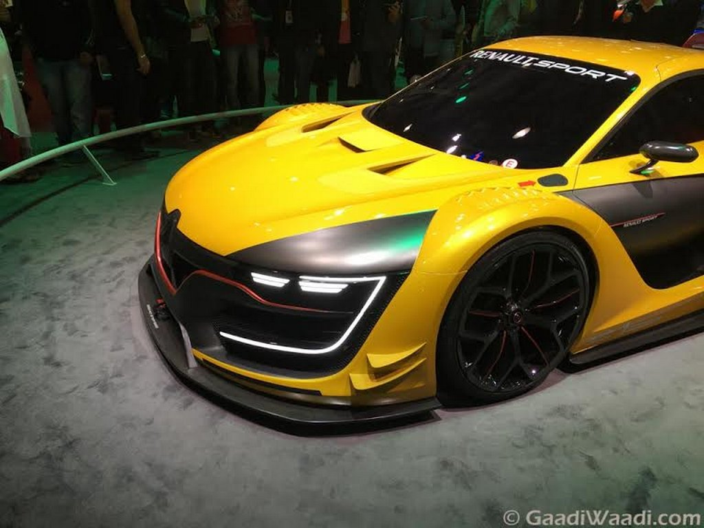 renault rs01 race car concept unveiled at the auto expo 2016 latest car news. Black Bedroom Furniture Sets. Home Design Ideas