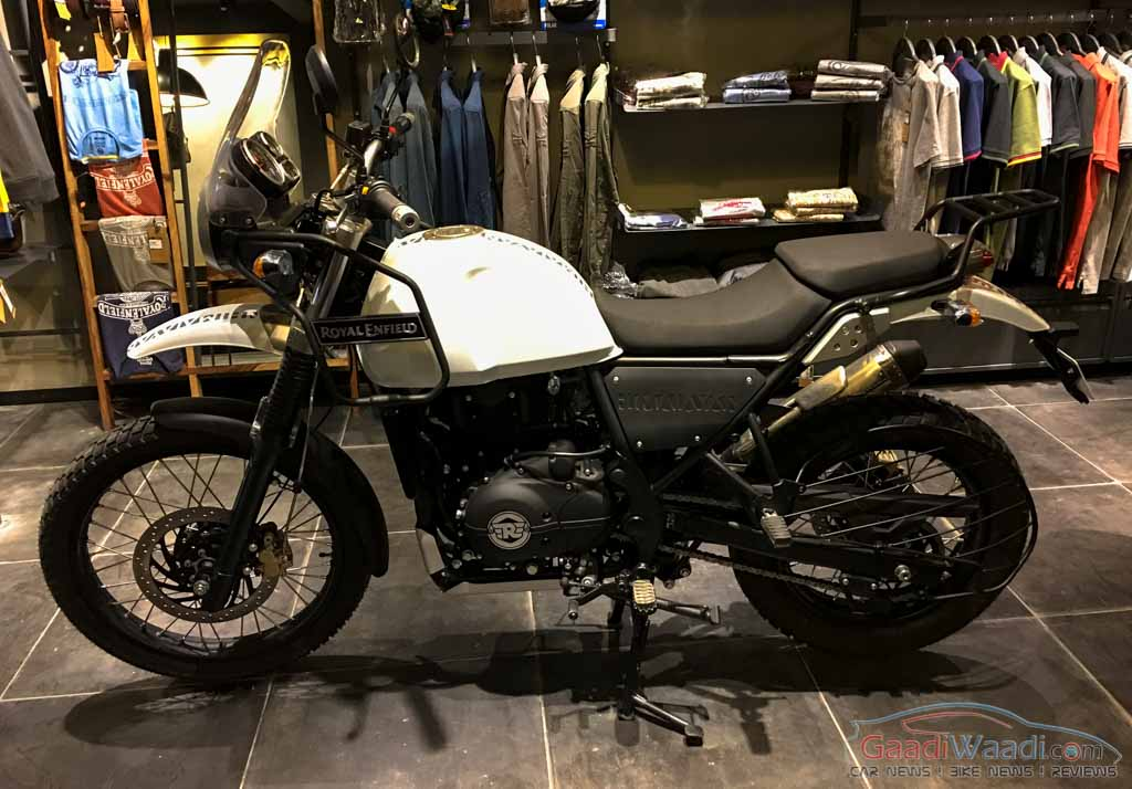 Royal Enfield Himalayan reaches showrooms
