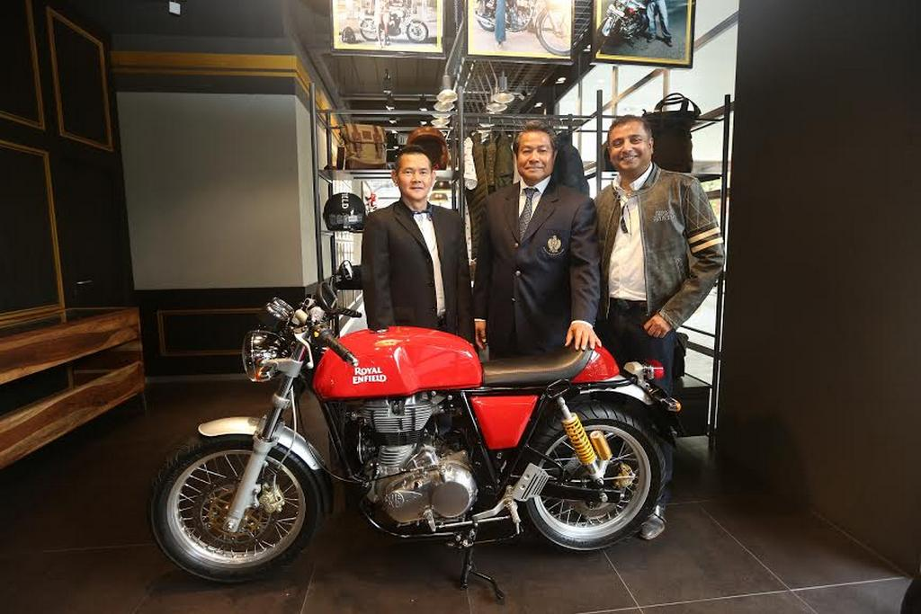 Royal Enfield Inaugurates Exclusive Store in Thailand