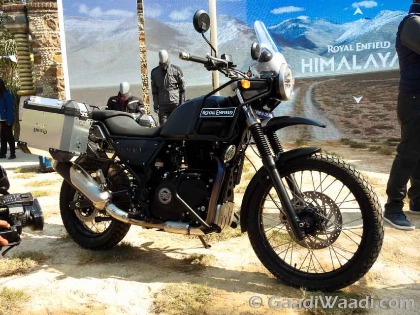 Royal Enfield himalayan launched -20-India