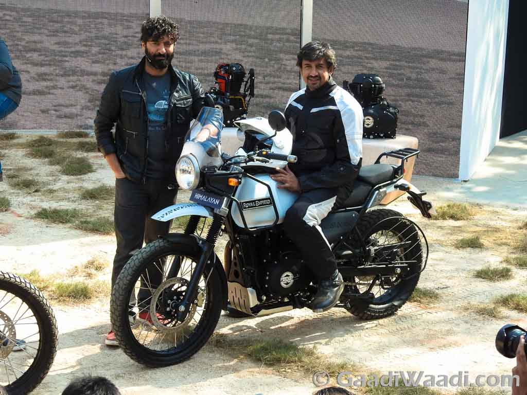 Royal Enfield himalayan launched -6-India