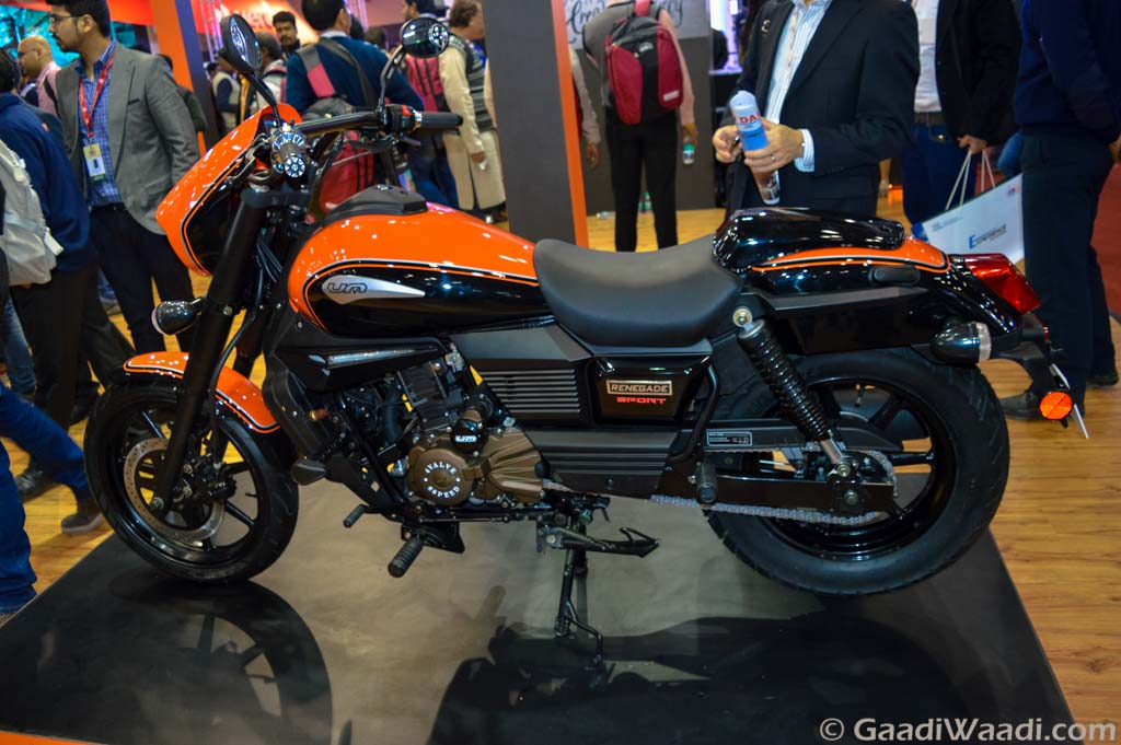 2016 Delhi Auto Expo Um Renegade Sport S Launched At Rs 1