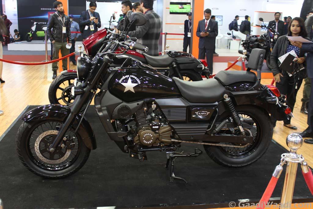 2016 Delhi Auto Expo Um Renegade Commando Launched At Rs