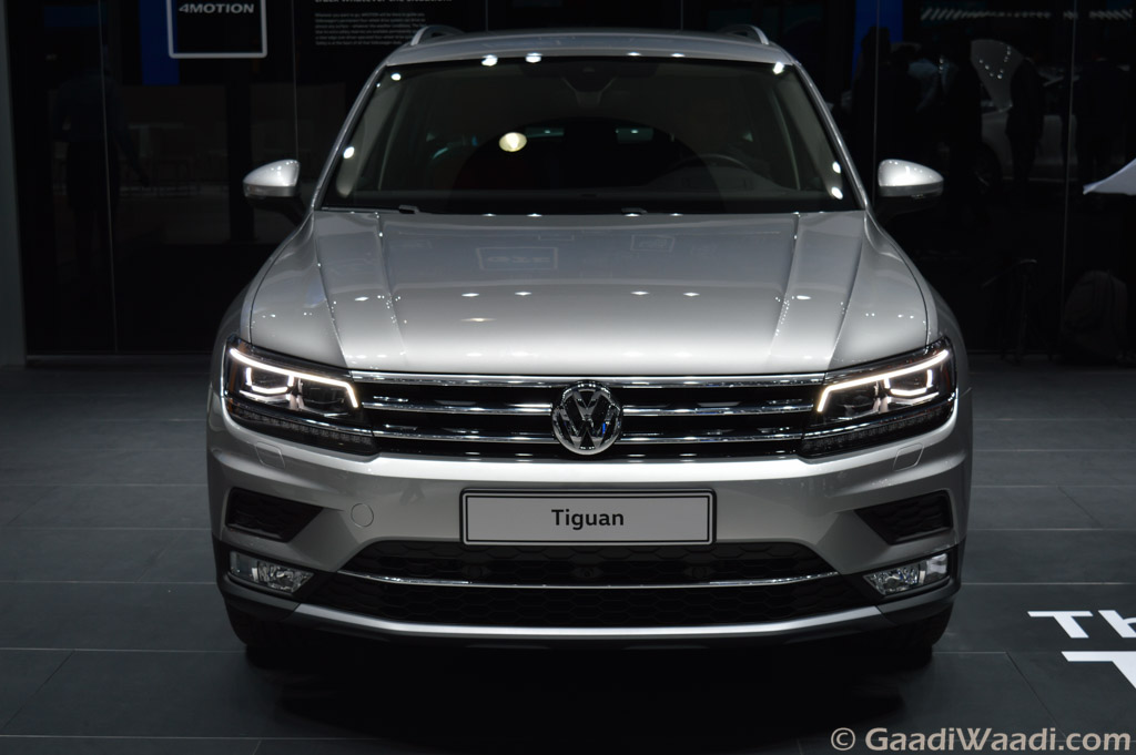 2016 volkswagen tiguan unveiled at 2016 delhi auto expo india cars news bike. Black Bedroom Furniture Sets. Home Design Ideas