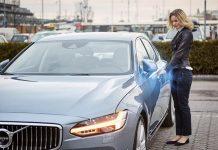 Volvo Cars digital key technology