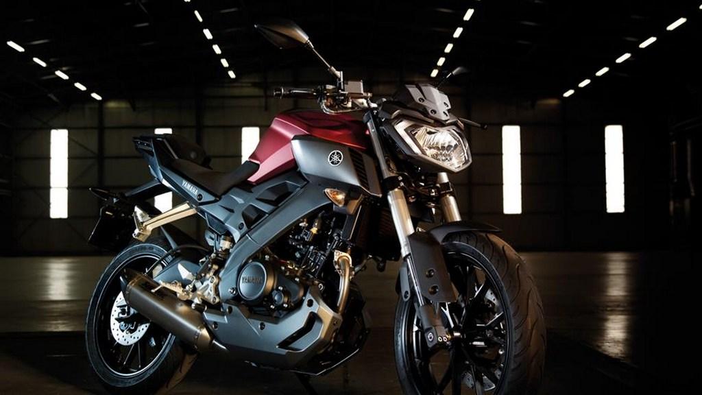 Yamaha MT 125 front styling