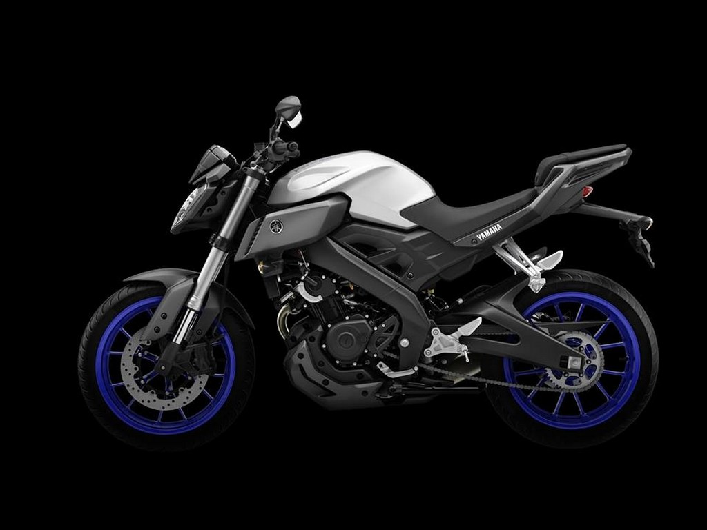 yamaha mt 125 imported in india for testing duties. Black Bedroom Furniture Sets. Home Design Ideas