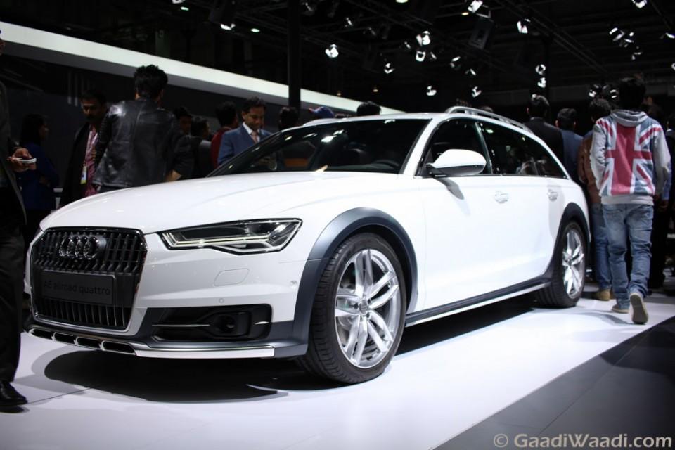 Audi A6 Allroad Quattro Displayed at Auto Expo 2016 - Gaadiwaadi.com - Latest Car News, Bikes ...