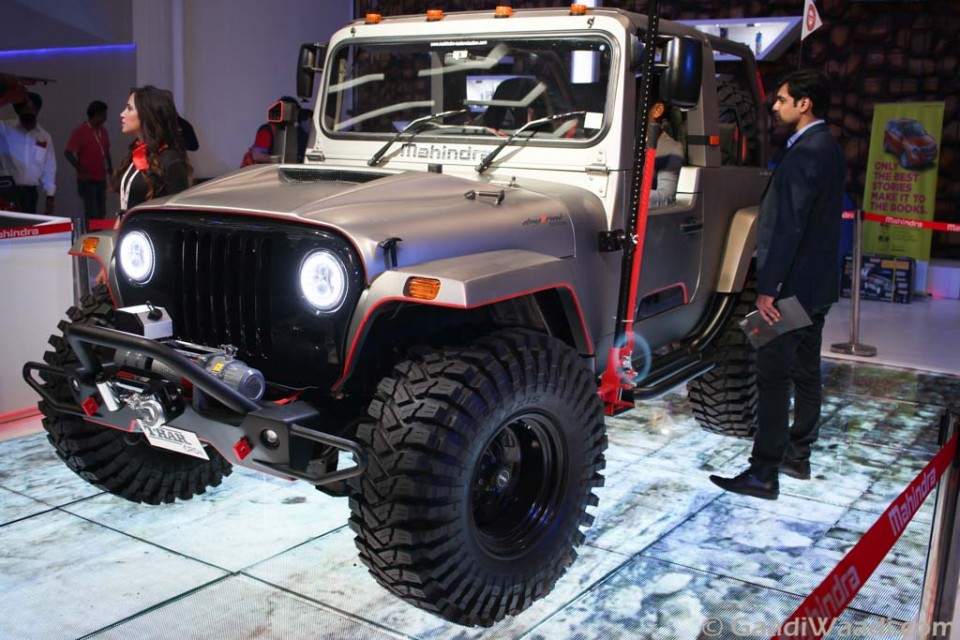Mahindra Thar Daybreak Edition Body Kit Offered At Rs 9 6