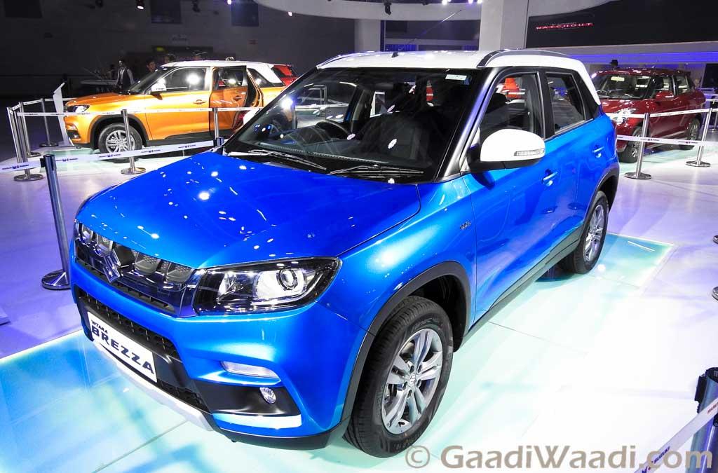Tnt Auto Sales >> Maruti Viatra Brezza Production Begins at Gurgaon Plant ...