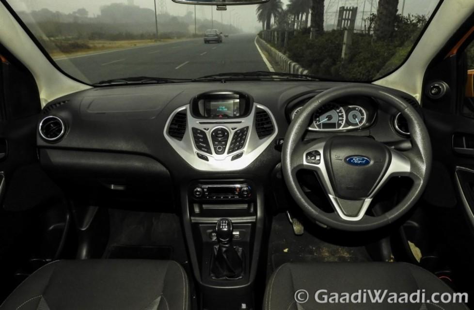 2015 ford figo hatchback interior