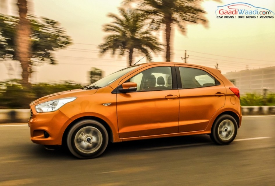 2015 ford figo test drive review side