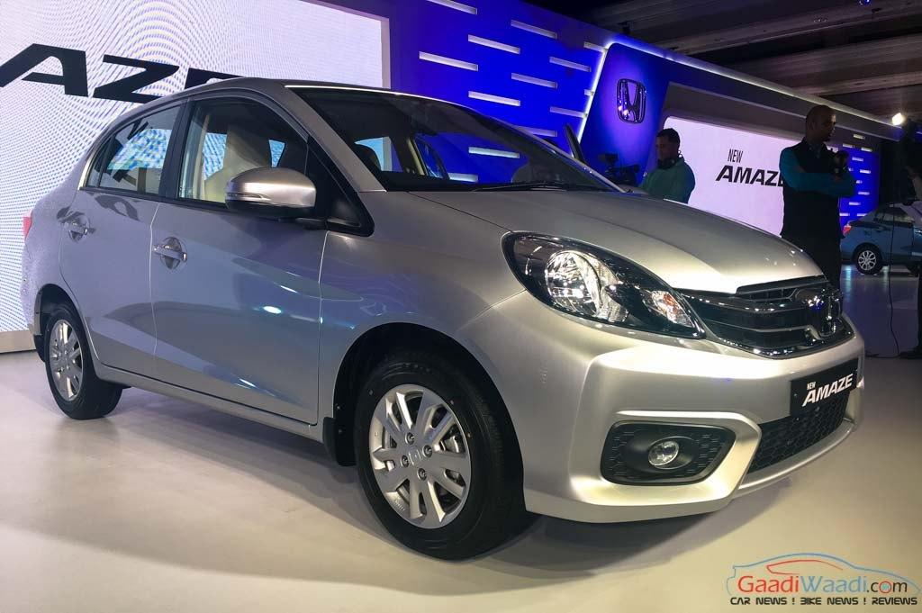 2016 New Honda Amaze Facelift Spec Review Price Pics 2