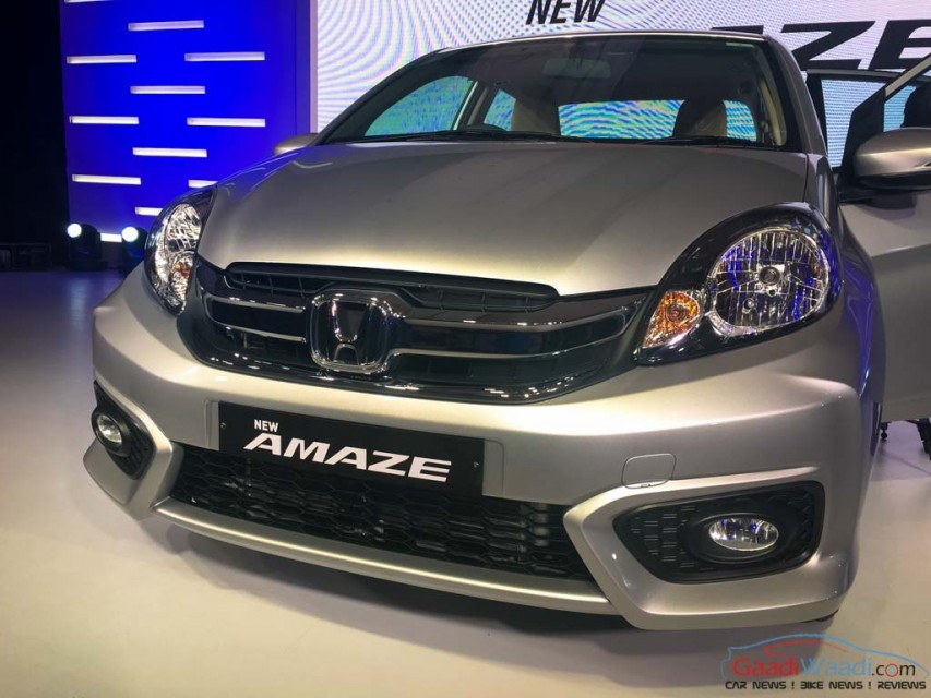 2016 New Honda Amaze facelift Spec Review Price Pics